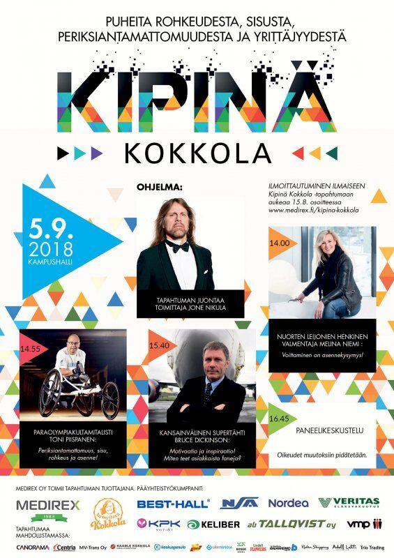 KIPINÄ Kokkola - Be there or be...