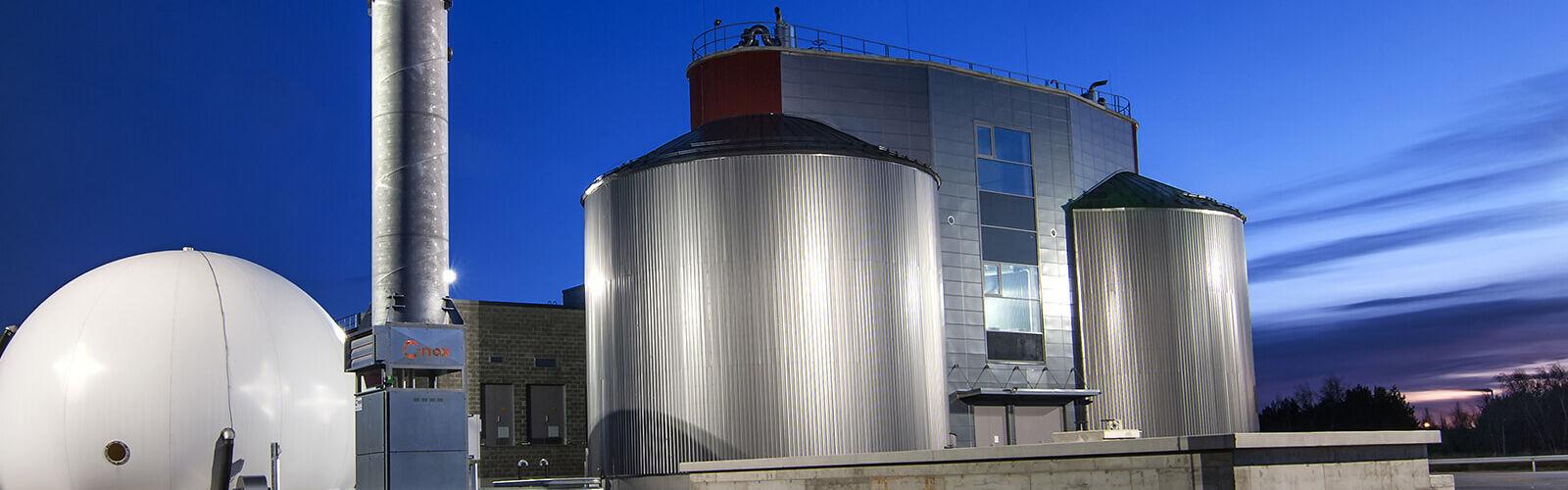 Kokkolan biogasplant