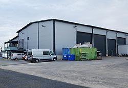 Tuotantotilat, Kewatec Aluboat Oy Ab, Kokkola