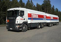 Oy Teboil Ab fuel transportation