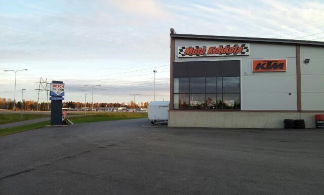 Busines premises, Motopark